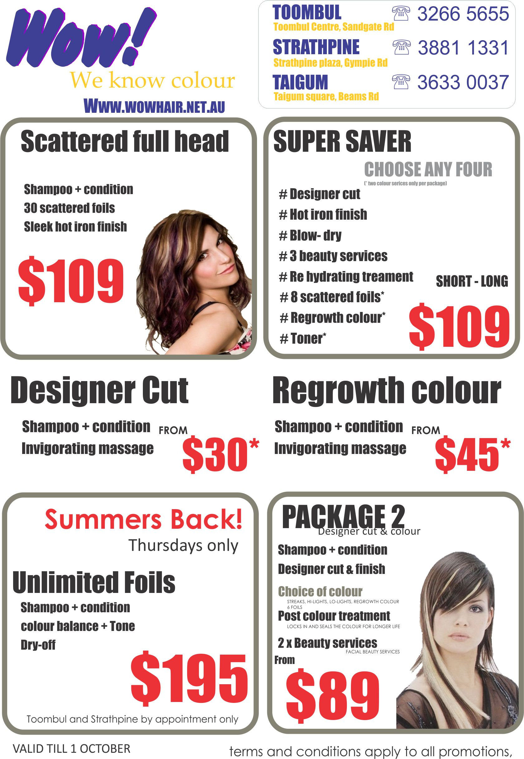 Salon Hair Promotions Life Style By Modernstork Com